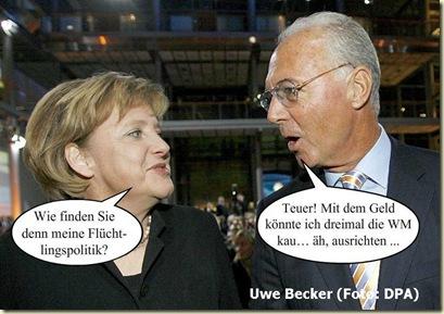 Merkel-Beckenbauer
